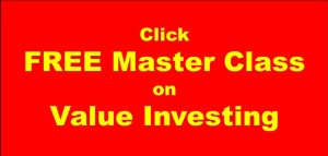 Free Master Class on Value Investing